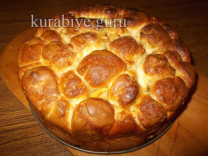 Обезьяний хлеб рецепт сладкий