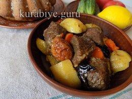 Рёбрышки говяжьи по-мароккански