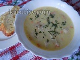Рисовый суп на греческий лад