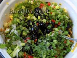 Салат языческий с маслинами