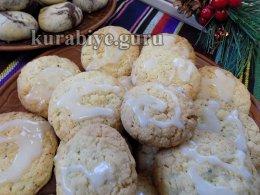Кокосово-овсяное печенье  с орехами