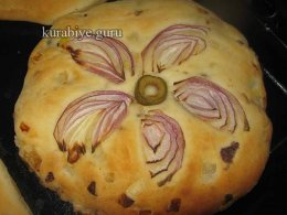 Луковые лепёшки в духовке, рецепт с фото