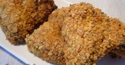 Куриные крылышки в чипсах
