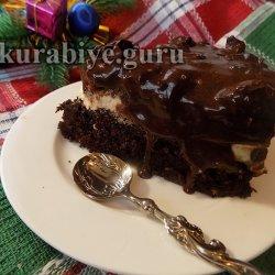 Пляцок Чернослив в шоколаде