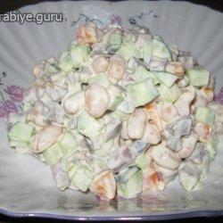 салат из сердца свиного рецепт с фото