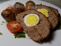 Греческий мясной хлеб в духовке